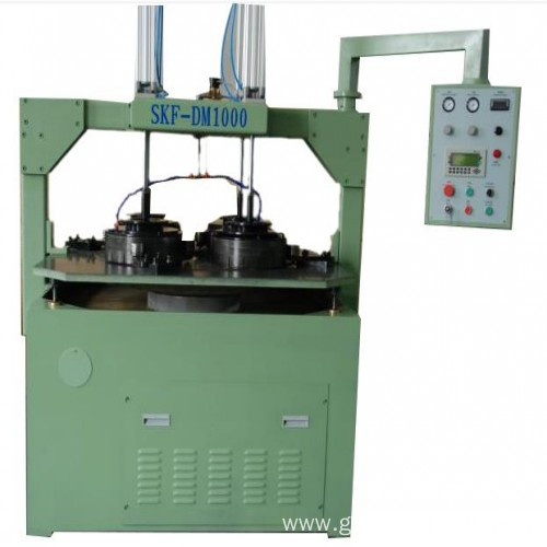 Submersible pump bearings lapping and polishing machine