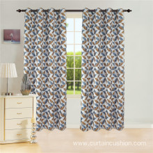 Jacquard Window Grommet Curtains