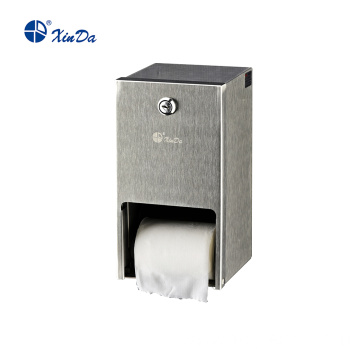 Waterproof Roll Towel Dispenser with two rollers