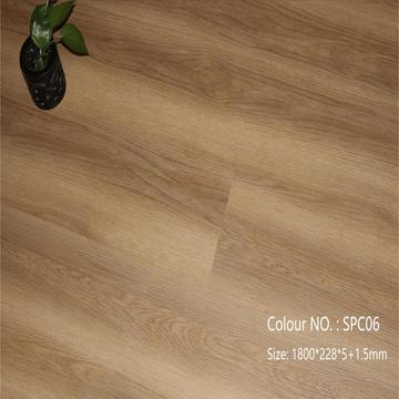 Einfache Installation Click System Vinyl Interlocking SPC Flooring
