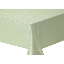 Solid Embossed Fabric Tablecloth Elegant Butterfly