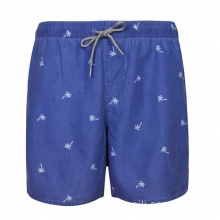 Dark Blue Swimwear Men Training Waterproof Swimming Shorts