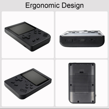 Portable Mini Retro Game Console Handheld Game Player 400 Games IN 1 Pocket Handheld Video Game Console Children's Gift