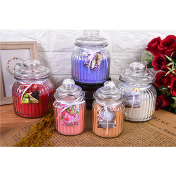 Home Decoration Quality Scented Candle In Glass Jar