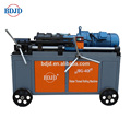 Rebar thread rolling machine for making straight screw