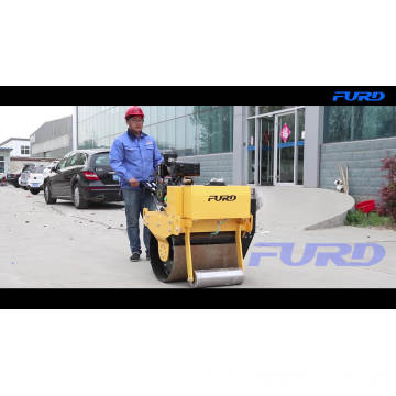 Vibratory Mini Road Roller Compactor Single Drum Asphalt Road Roller Price FYL-700
