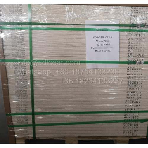 Top Sale Whilte Magnesium Oxide Fireproof Sheathing Boards