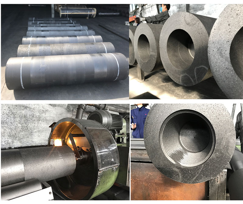 UHP650 Grade Graphite Electrodes for steel plant