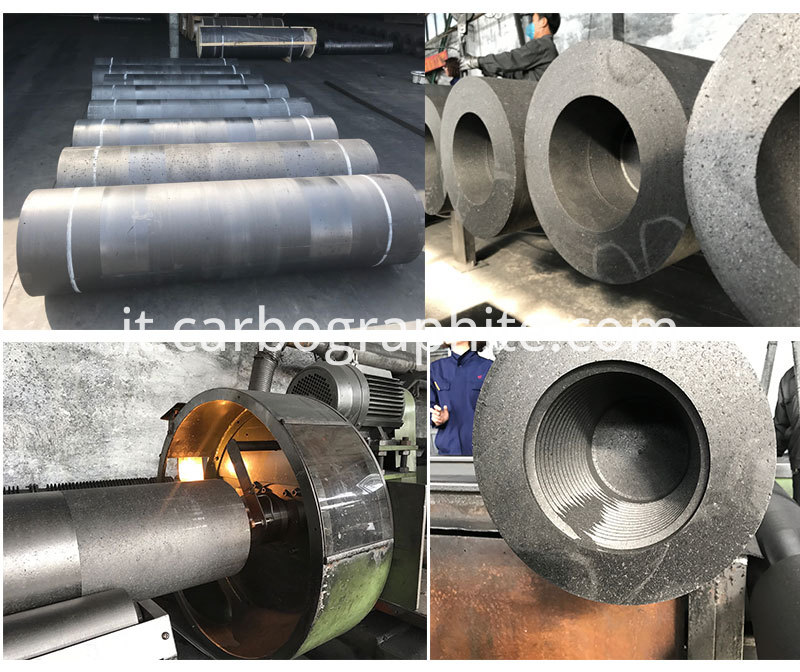 4 TPI Nipple HP 600mm Graphite Electrode Price Iran