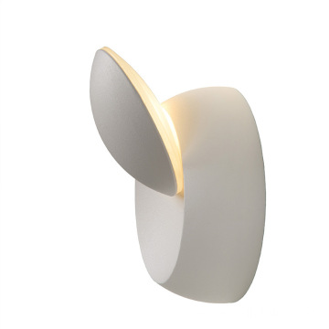 Bedroom Round Square Rotating LED Wall Lamp