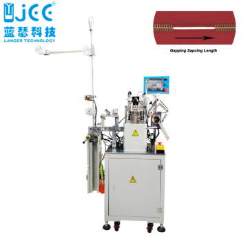 Full Automatic Metal Zipper Gapping Making Machine