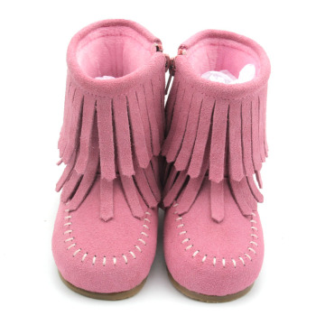 Pink Winter Warm Baby Kids Girl Shoes Boots