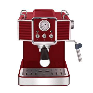 coffee brewing espresso machine with frother