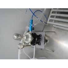 Semi-automatic stair column painting machine