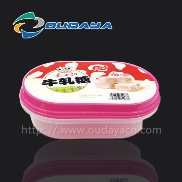 Eco-friendly container plastic bowl with lid