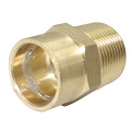 Solder Ring Brass Male Adapter