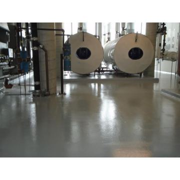 Machinery factory concrete non-slip floor