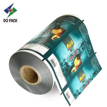 Chips film foil food packaging customer printing
