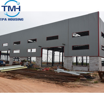 Factory Customized Parapet Wall Construction Steel Workshop