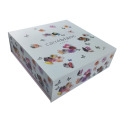 Elegant exquisite cardboard gift box with magnet