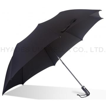 "Big Size 27"" Strong Mens Folding Umbrella"