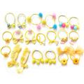 2019 Korean Gift Box Packed Girls Cute Cartoon Elastic Hair Bands Headwear Scrunchies Rubber Bands Headbands Hair Accessories