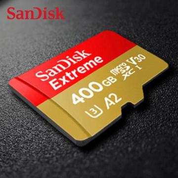 SanDisk Extreme Micro SD Card 32GB 64GB 128GB 256GB 400GB Memory Card SD/TF Flash U1/U3 4K High speed MicroSD For Camera