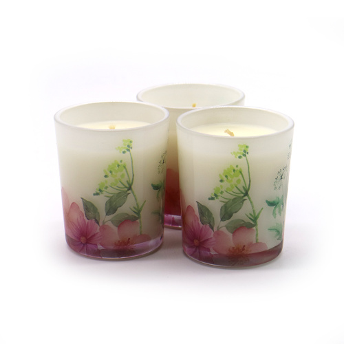 Popular High Quality Scented Glass Jar Candle