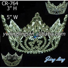 Full Round Rhinestone Pageant Crown Wholesale Boy Crown