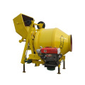350l diesel concrete drum mixer with tipping hopper