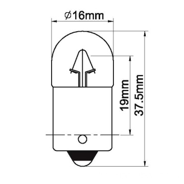 Lamps for park tail&number plate light/A20T