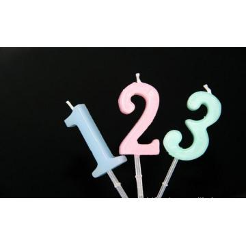 The safety of alphanumeric cartoon birthday candles