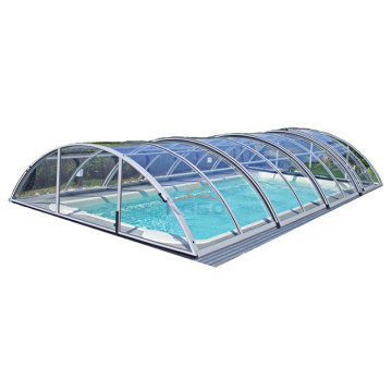Hard Plastic Safety Retractable Swimming Pool Cover