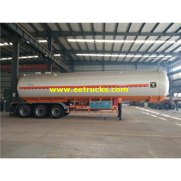 56000 Liters Tri-axle LPG Tanker Trailers
