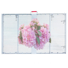 Semi-outdoor Transparent LED wall