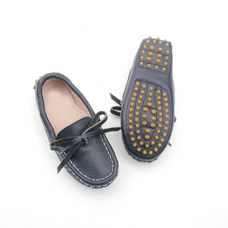 Children Shoes Leather