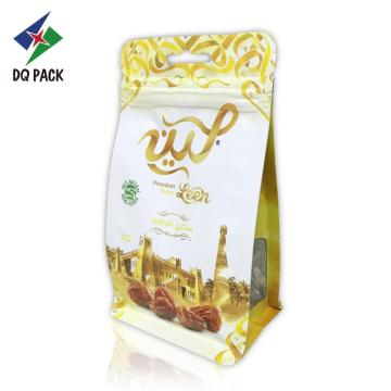 Flat Bottom Resealable Ziplock Top Dry Food Bag