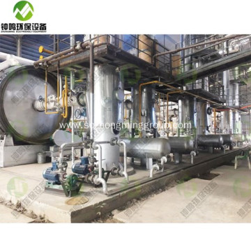 Used Motor Oil Refinery Machine