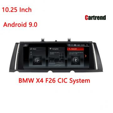 Android 9.0 Car Radio X4 F26 үшін