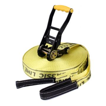 50mm Sports Slack Line Slickline with help line for beginners