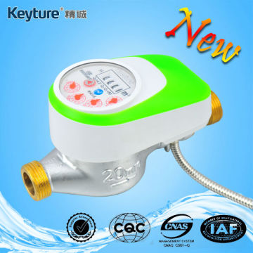 Wired Remote Reading Valve Control Water Meter Green