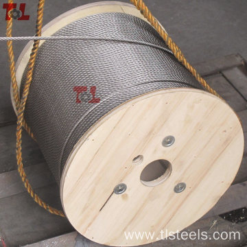 Stainless Steel Wire Rope 6X19 FC PP 7X19