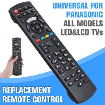 Universal TV Remote Control for LCD / LED / HDTV remote controller for Panasonic TV N2QAYB000572 N2QAYB000487 EUR76280