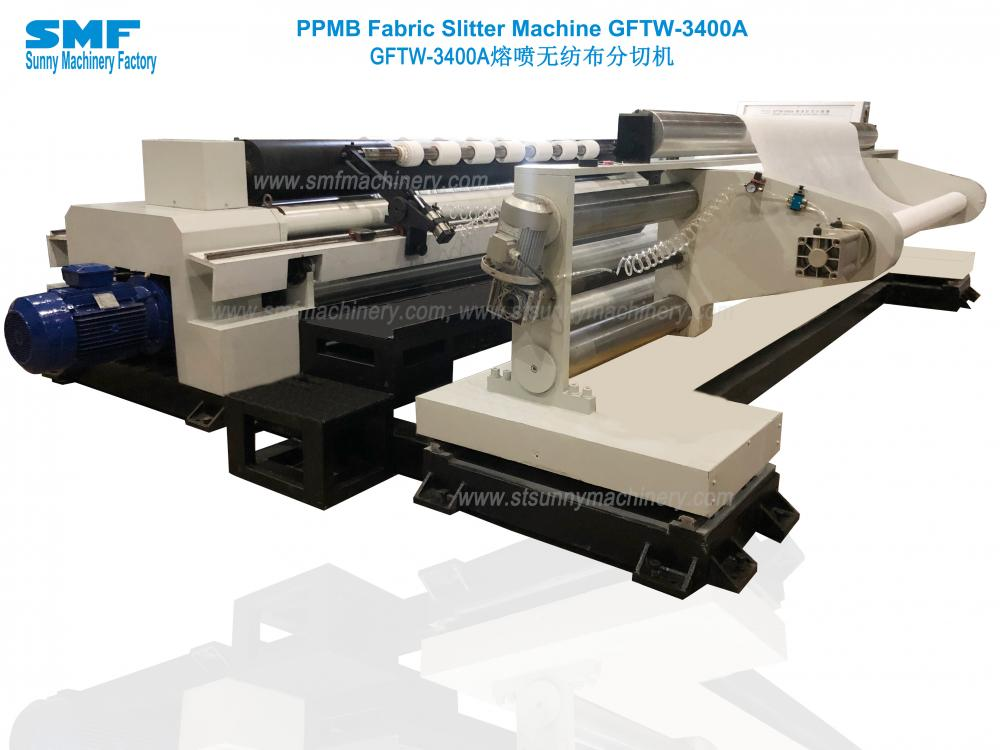 Ppmb Fabric Slitter Machine Gftw 3400a