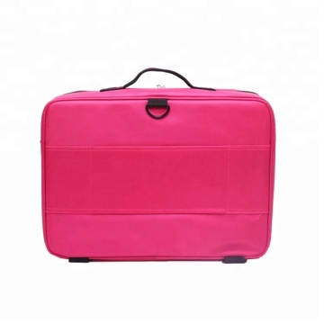 Hot Selling Portable Hard Case Large Capacity Professional Makeup Cosmetic Bag