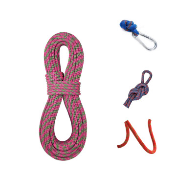 Wear resistance 4 strand nylon braided polyester rope