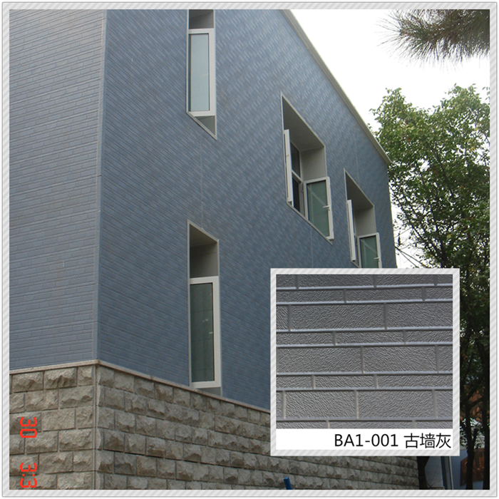 decorative exterior wall panels
