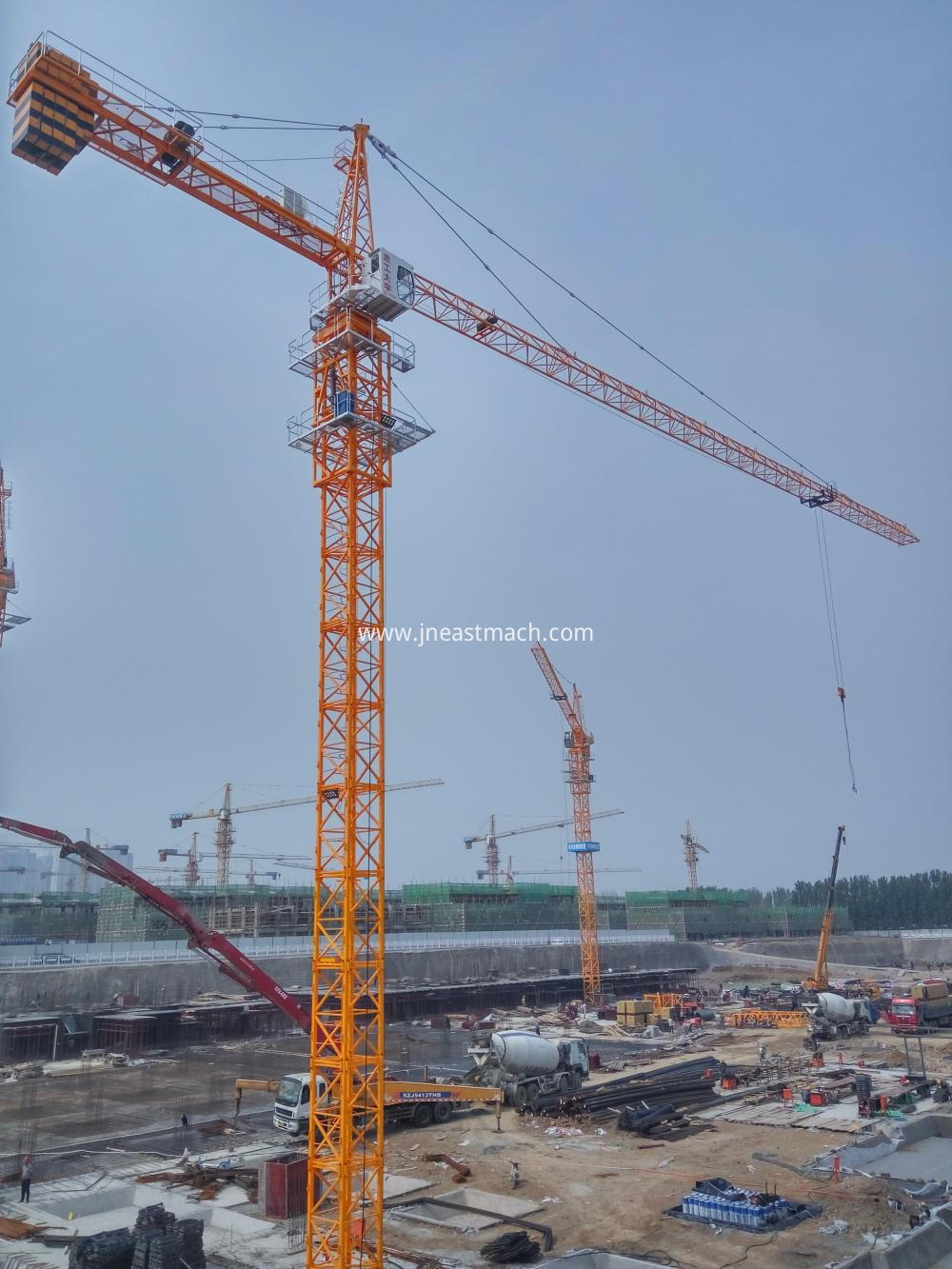 Qtz63 Tc5610 6 Ton Used Tower Crane Manufacturers
