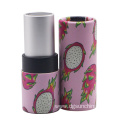 Empty private label lipstick paper tube makeup packaging