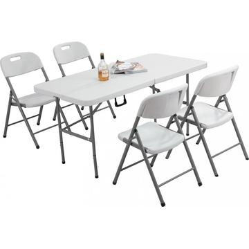 Factory price customized folding table garden furniture